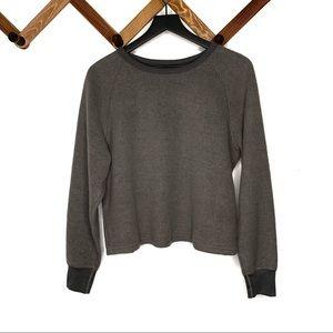 MADEWELL miles textured sweatshirt